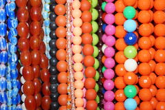 Colored necklace Stock Photography