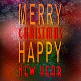 Colored new year 03 C Royalty Free Stock Photos
