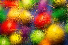 Abstract blurred background with ointment.