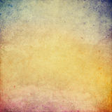 Colored old paper background. Illustration Stock Photo