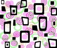 Colored op-art. An illustration that shows an op-art design Stock Photo