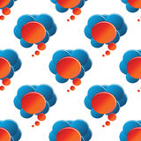 Colored opinion pattern Royalty Free Stock Images
