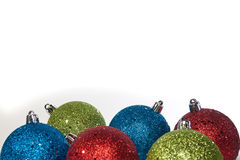Colored ornaments Stock Photography