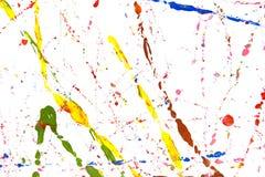 Colored paint splash royalty free stock photos