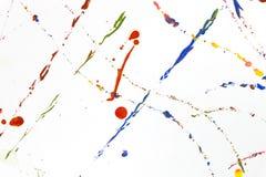 Colored paint splash royalty free stock photo