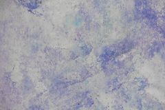 Blue colored painted texture background stock images