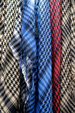 Colored Palestinian Keffiyeh Stock Image