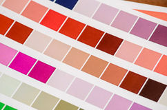Colored Palette Guide Royalty Free Stock Images