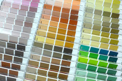 Colored palette Royalty Free Stock Images