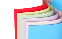 Colored Paper Stock Images