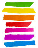 Colored paper. A group of colored paper Royalty Free Stock Image