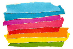Colored paper. A group of colored paper Stock Photo