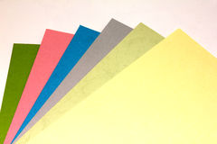 Colored paper. A4 Colorful. Color Paper Stock Photos