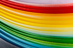 Colored paper Royalty Free Stock Photography