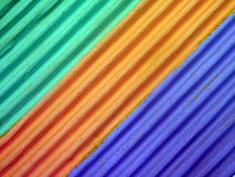 Colored paper abstract Stock Photo