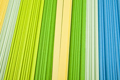 Colored paper Stock Photography