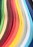 Colored paper Stock Image