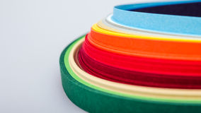 The colored paper Stock Photos