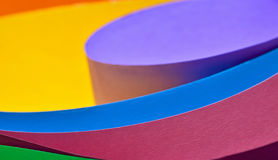 Colored paper background Stock Images