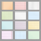 Colored Paper Royalty Free Stock Photo