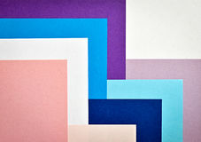 With colored paper collage stairs. Abstract background with colored paper collage stairs Royalty Free Stock Photo