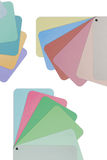 Colored paper for designer Royalty Free Stock Photography