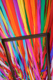 Colored paper and framed Royalty Free Stock Images