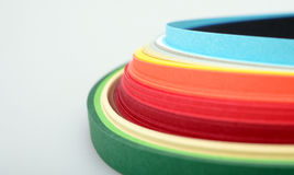 Colored paper Royalty Free Stock Photos