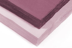 Colored paper napkins Stock Photos