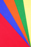 Colored Paper Pattern Stock Photography