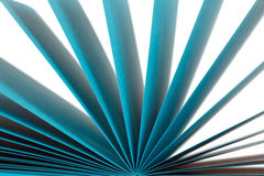 Colored paper records Royalty Free Stock Image