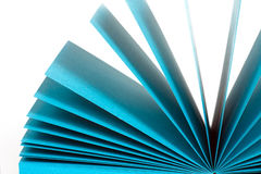 Colored paper records Stock Photos