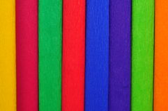 Colored paper roll Stock Photo