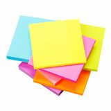 Colored paper stickers Royalty Free Stock Photo