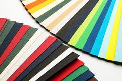 Colored paper strips. Stock Photo