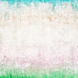 Colored paper texture, weathered and aged Stock Photography