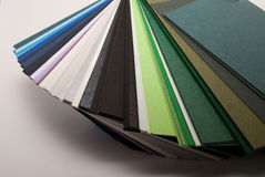 Colored papers Royalty Free Stock Photography