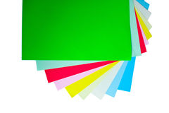 Free Colored Papers Royalty Free Stock Images - 13796099