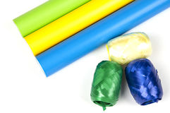 Colored papers Royalty Free Stock Photos