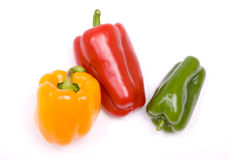 Colored paprika Royalty Free Stock Image
