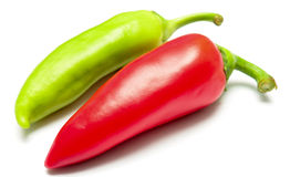 Colored paprika (pepper) Stock Photos