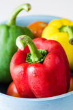 Colored paprika (pepper) Stock Image