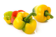 Colored paprika Royalty Free Stock Photo