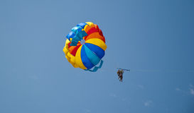 Colored parachute Royalty Free Stock Photo