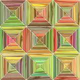 Colored parquet. Stock Photo