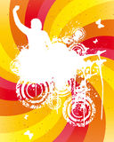 Colored Party Background. Vector Illustration Royalty Free Stock Photography