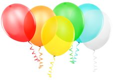 Colored Party Balloons Royalty Free Stock Image