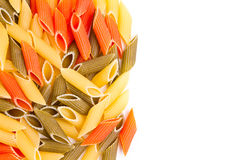 Colored pasta Royalty Free Stock Image