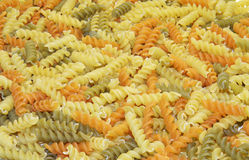 Colored pasta Royalty Free Stock Photo