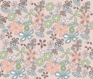 Colored pastel handmade abstract ornament Royalty Free Stock Photos